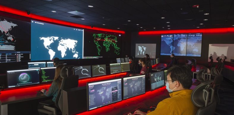 Part of the Global Cybersecurity Institute that opened this year, RIT's Cyber Range and Training Center can host more than 5,000 virtual machines simultaneously in immersive scenarios.