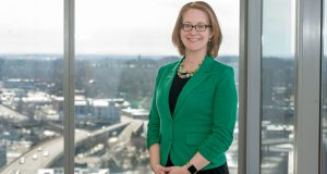 Jaime Saunders is the new CEO of the United Way of Greater Rochester. (Photo by Jeff Witherow)