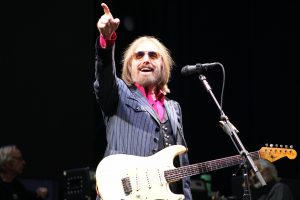 Tom Petty shows love to the crowd at CMAC in this July 2, 2017 performance, just three months before his death. (Provided)