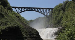 Letchworth State Park is a highlight of the Finger Lakes Region.