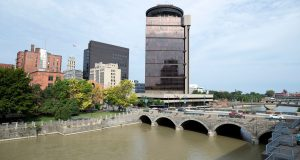 Genesee River in downtown Rochester.