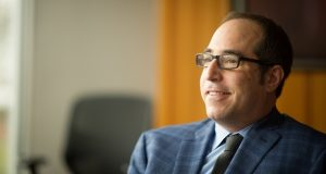Ken Glazer, 44, of Pittsford, is the Chairman of Buckingham Properties in Rochester.