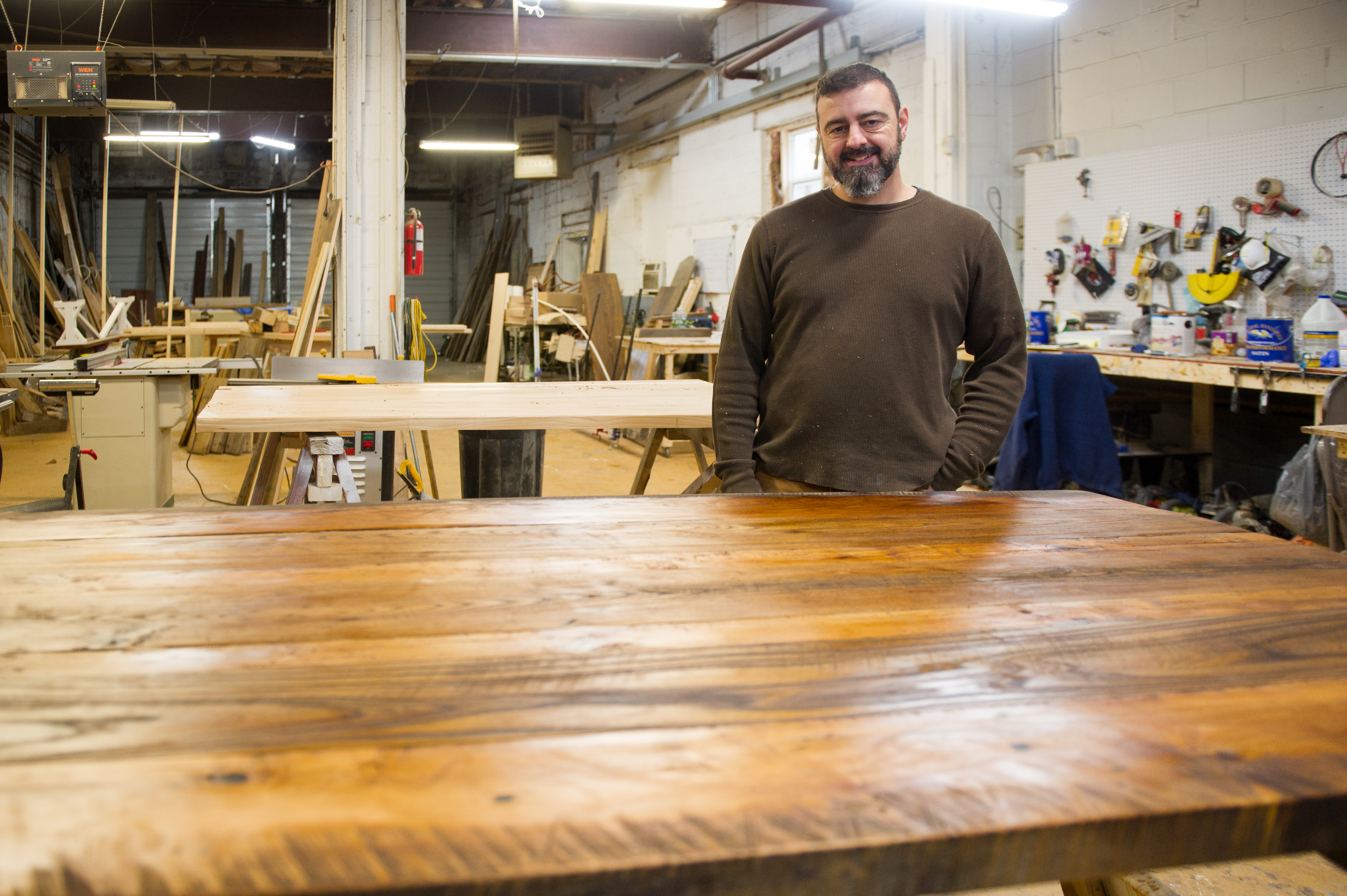 It Guy Finds Greater Reward Working With Wood Rochester