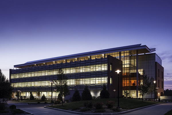 RIT's Golisano Institute for Sustainability, an SWBR design project, earned a LEED platinum rating in 2014 (provided photo).