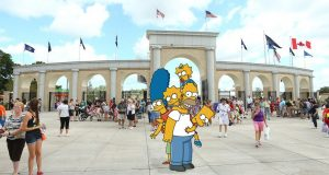 The New York State Fair included this image on its Facebook page in reaction to the Simpsons dissing Upstate on Sunday.